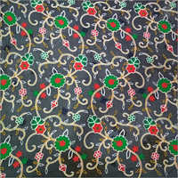 Multiwork Nylon Dyed Nazneen Fabric