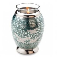Votive tea light candle urns