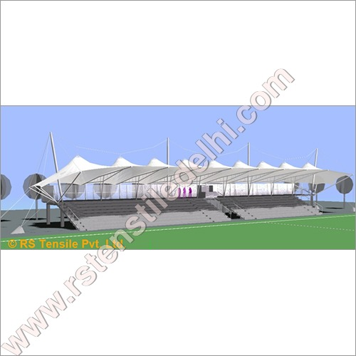 Tensile Fabric Stadium Structure