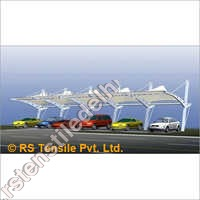 Car Parking Tensile Gazebo