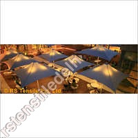 Food Court Tensile Roof Structure
