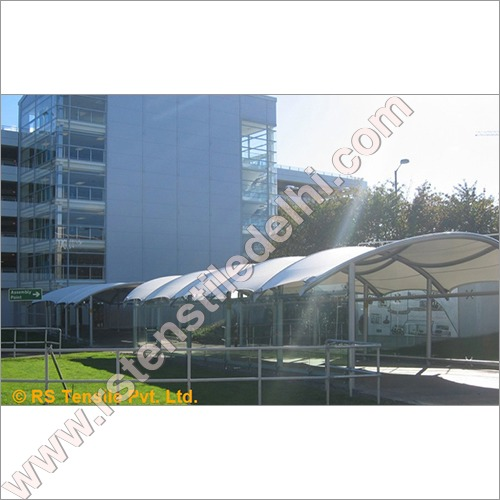 Walkway Entrance Structure