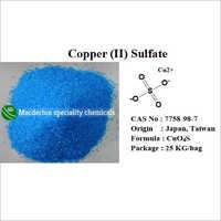 Copper (II) Sulfate