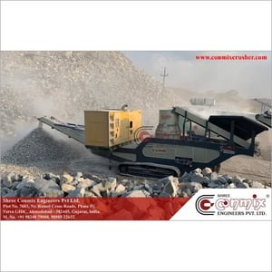 Track Mounted Mobile Cone Crusher