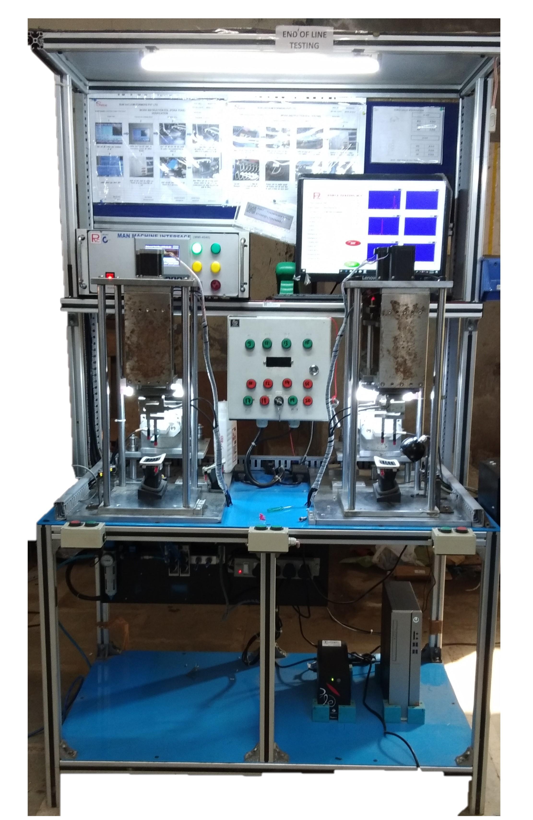 YCA Louver Vent Leak Testing Machine