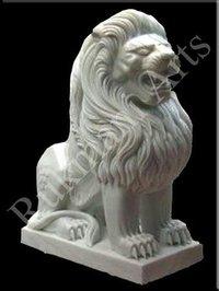 Marble White Lion