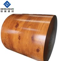 Wood Grain Coated Aluminum Coil