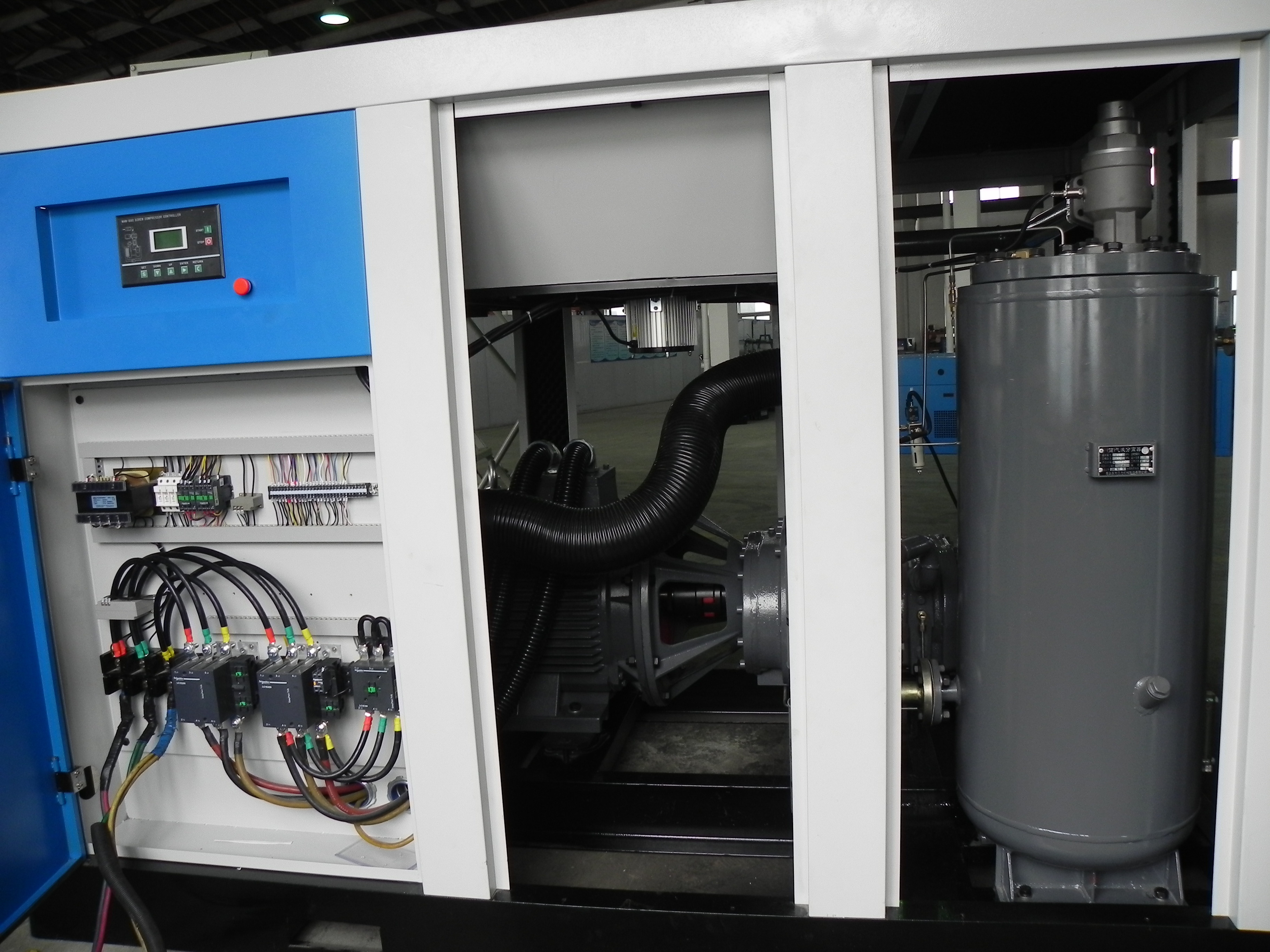 VSD Frequency Screw Compressor