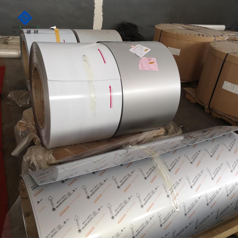 Polyester PE Aluminum Gutter Coil