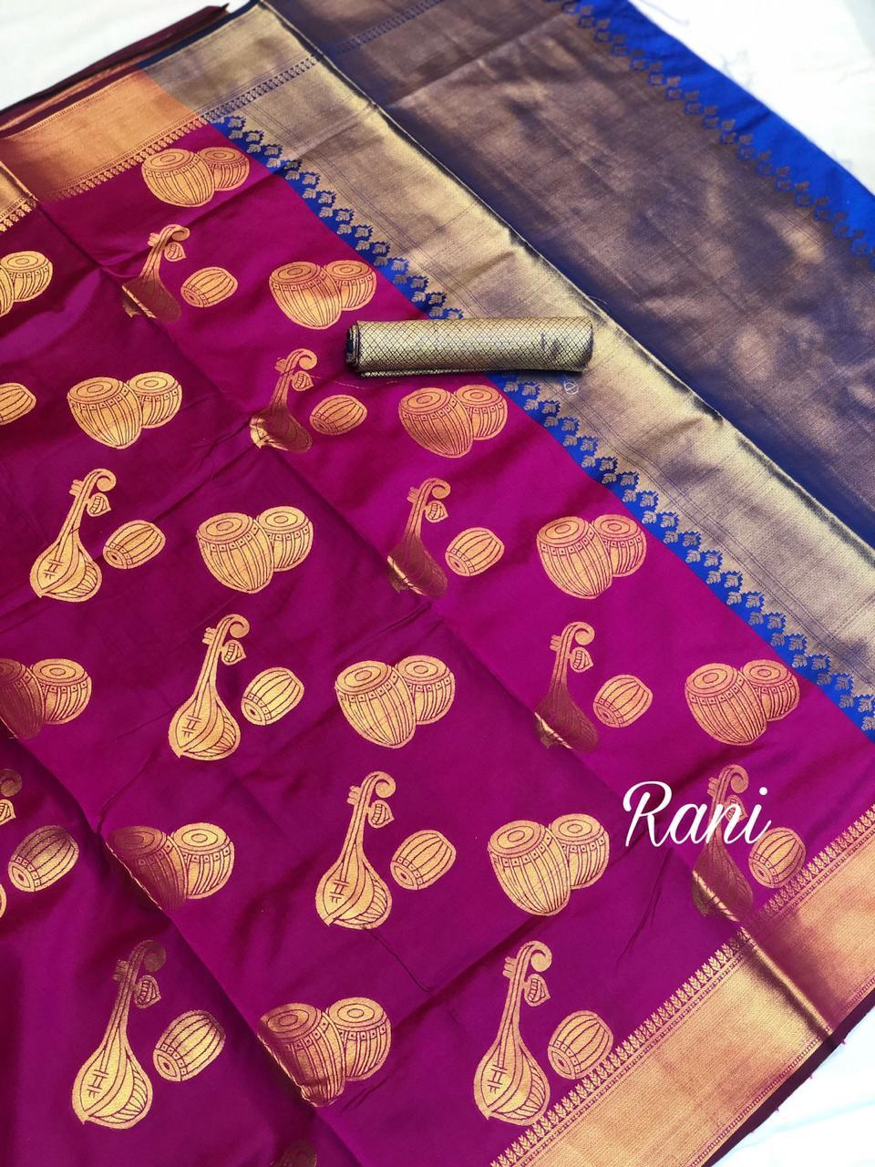 Traditional Impressive Banarasi Net Saree
