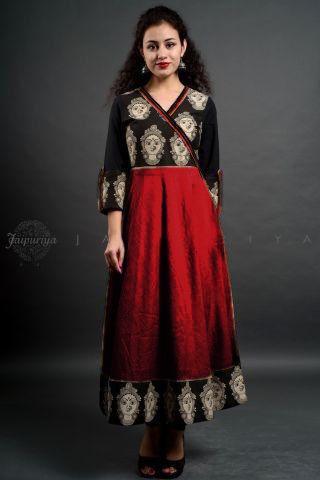 Fashionable And Trendy Rayon Kurti