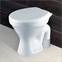 White Ceramic European Water Closet