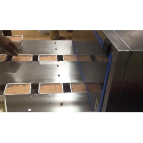 Soan Papdi Cutting Machine