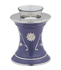 Baroque Pearl Tealight Cremation Urn