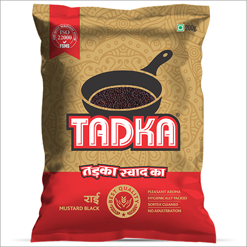Tadka Pouch Mustard Black Seed