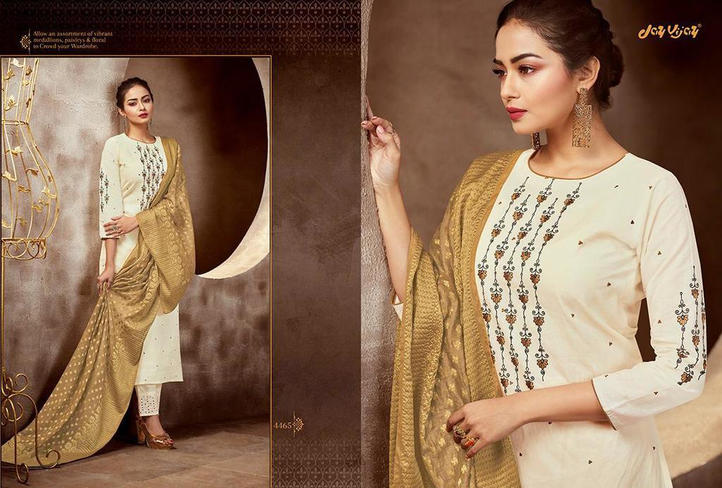 Pure Cotton Embroidery Work Suits