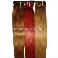 Colored Indian Human Hair Extension