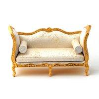 Golden Sofa Set