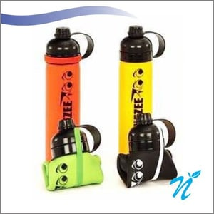 Silicone Squeezy Sipper Bottle
