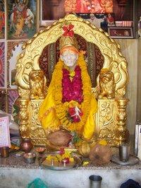 Golden Sai Sinhasan