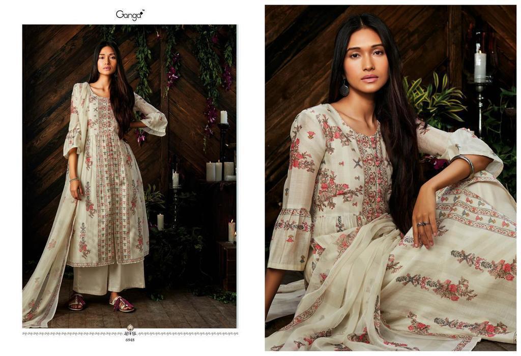 Pure Silk Digital Printed Suits