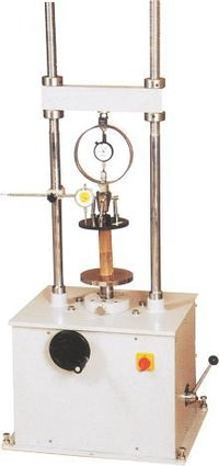Unconfined Compression Tester Motorised