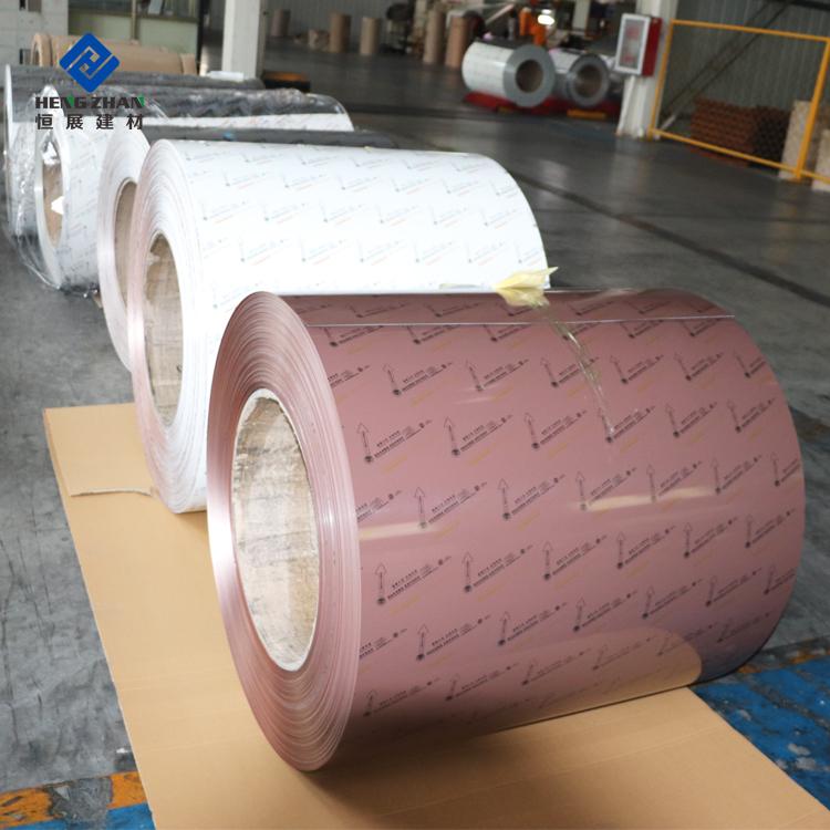 White Aluminum Gutter Coil