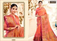 Traditional Weaving Silk Sarees