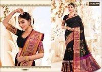 Traditional Weaving Silk Sarees