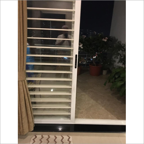 Aluminium Sliding Grill Window