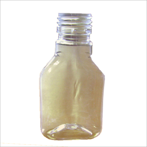 Plain Plastic Cosmetic Bottle