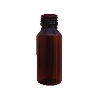 Round Plastic Pharmaceutical Bottle