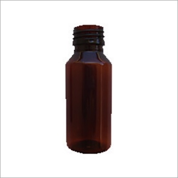 Round Plastic Pharmaceutical Bottle