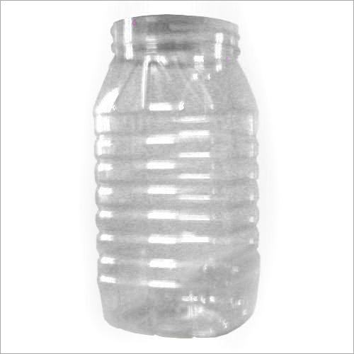 Empty Plastic Jar