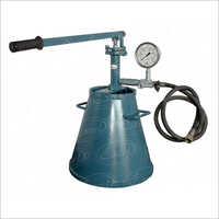 Manual Hydro Test Pump