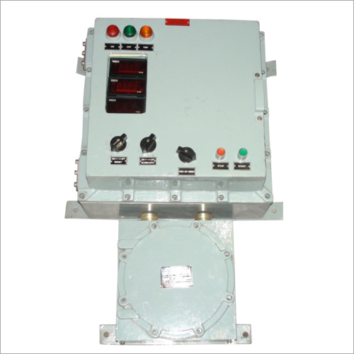 Flame Proof Control Panel with VFD