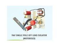 Manual Single Pole HT Off Load Isolators