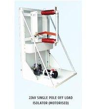 Single Pole HT Off Load Motorized Isolators