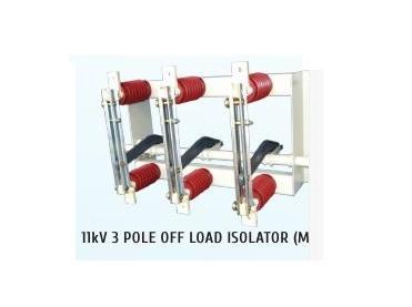 Three Pole HT Off Load Manual Isolator