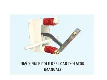 11kV Single Pole HT Off Load Manual Isolator