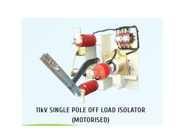 11kV Single Pole HT Off Load Motorised Isolators