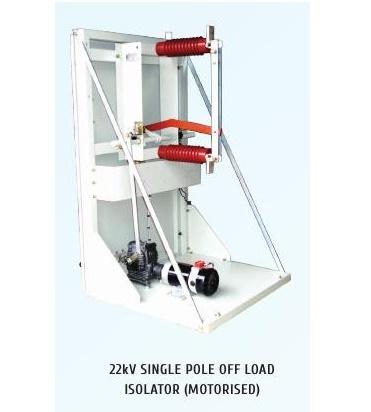 22kV Single Pole Off Load Motorized Isolators