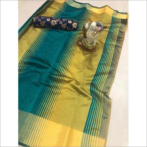 Maniyar Shaded Cotton Silk Saree