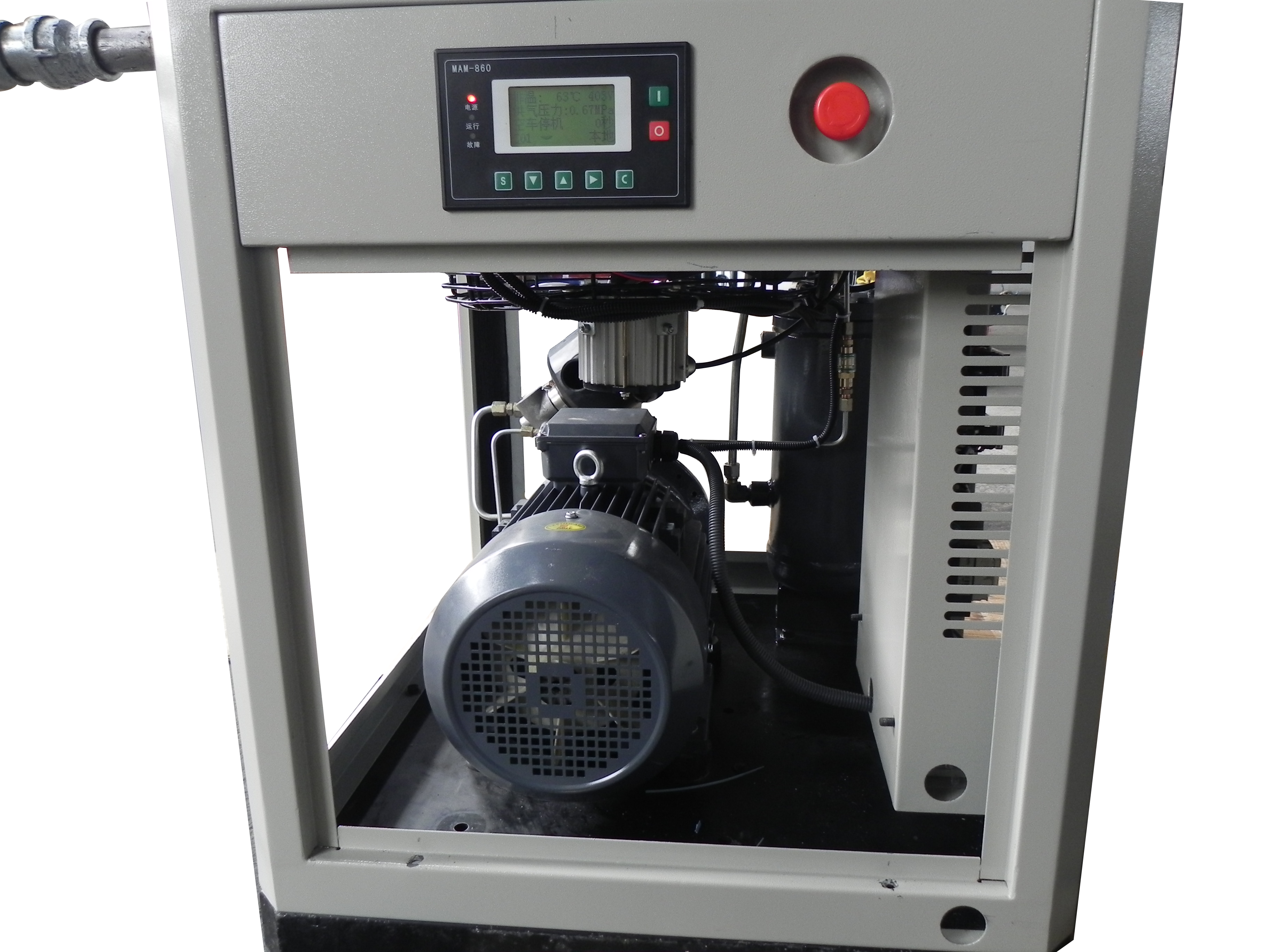 Mounted Oil Inject Compressor