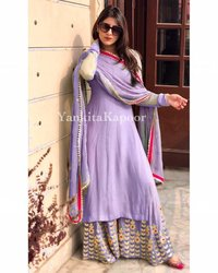 Georgete Weightless Ladies Kurti