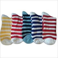 Striped School Socks
