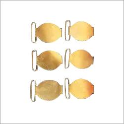 School Brass Belt Buckle