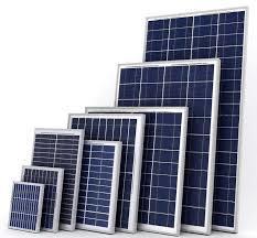 Solar panel 25 watts upto 325 watts