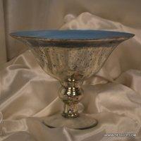 GLASS SKY BLUE COLOR BOWL
