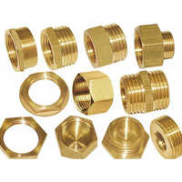 Brass Pipe Fitting Gas Parts